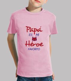 papa est mon héros préféré