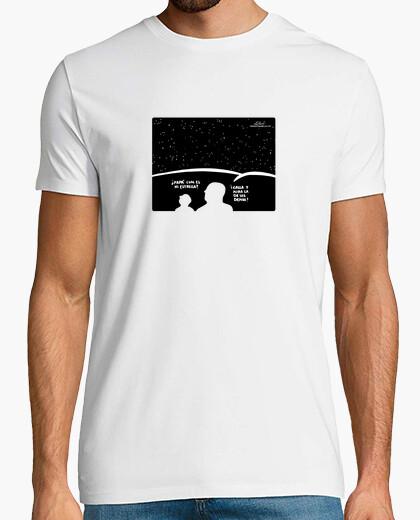 Camiseta Papá estrella/ blanca/ chaval