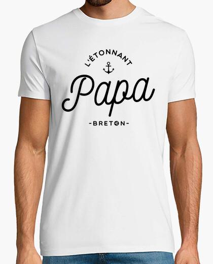 Tee-shirt Papa et Breton !