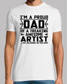 papa fier de paniquer artiste génial