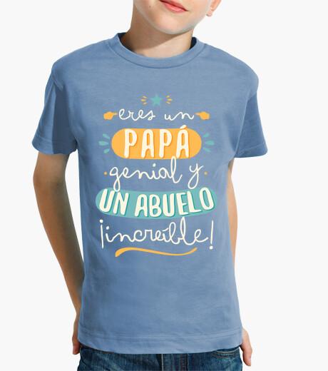 Ropa infantil Papá genial Abuelo increíble!