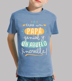 Papá genial Abuelo increíble!