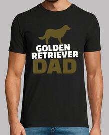 papá golden retriever