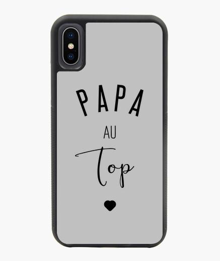 Cover iPhone X / XS Papà in cima