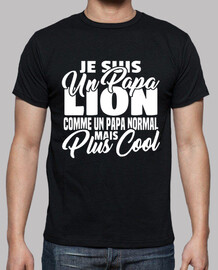 Papa lion mais plus cool