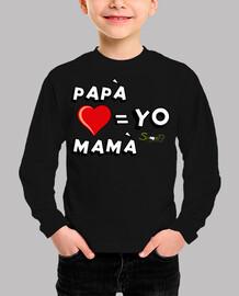 Papa, mama y yo