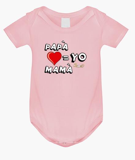 Abbigliamento bambino papà, mamma e io