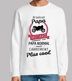 Papa motard carrément plus cool