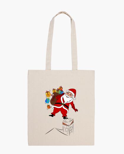 Bolsa Papá Noel con regalos