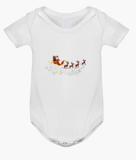 Ropa infantil Papá Noel con trineo y renos
