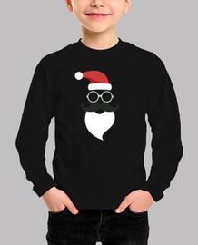 Papa Noel Santa Claus Hipster Bigote