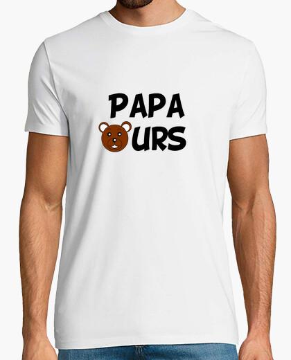 Camiseta papá oso