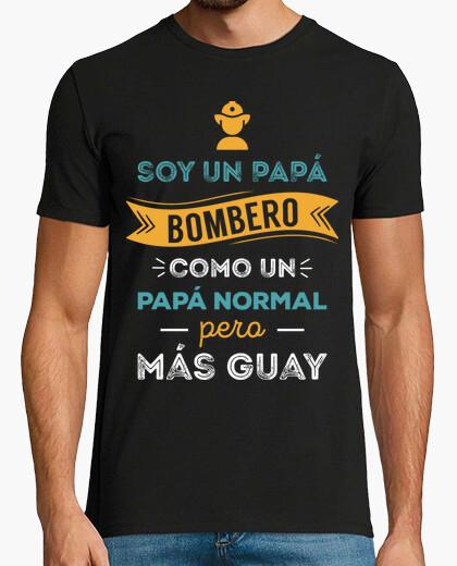 T-shirt papà pompiere