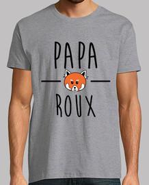 papá rojo panda rojo