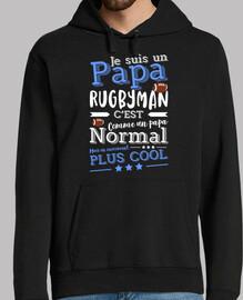 Papa rugbyman cadeau