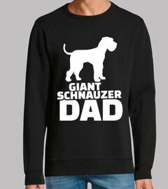papà schnauzer gigante