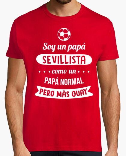 T-shirt papà sevillista