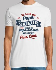 Papa skieur