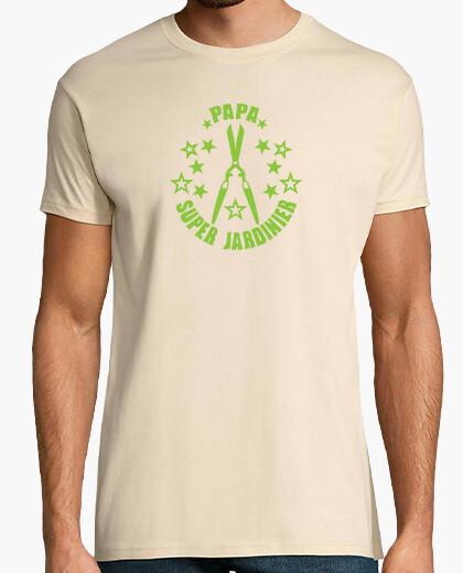 T-shirt papà super giardiniere