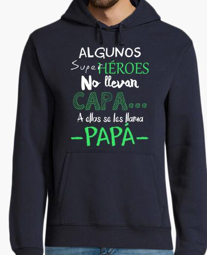 Felpa papà supereroe