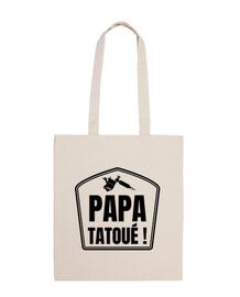 Papa tatoué