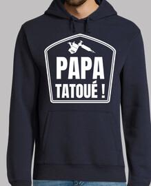 Papa tatoué !