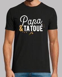 Papa tatoué cadeau