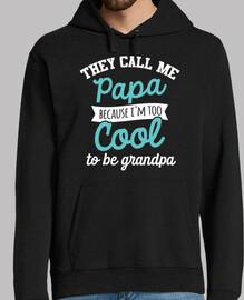 Papa too cool cadeau