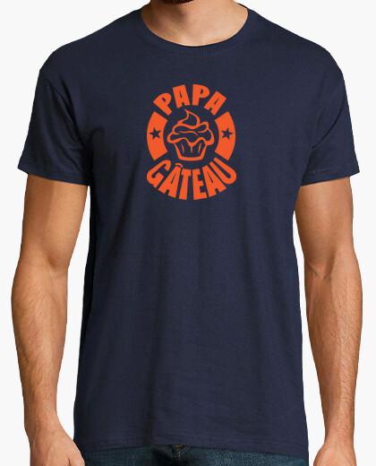 T-shirt papà torta logo