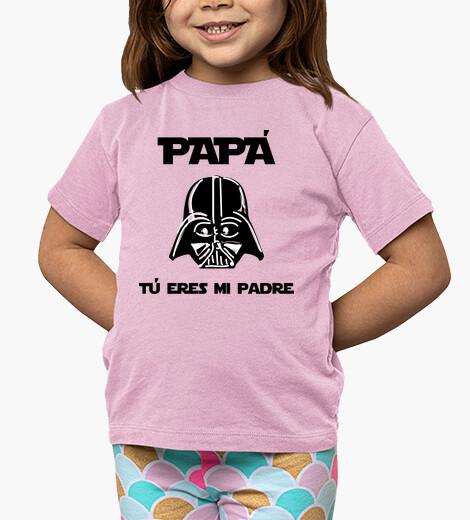 Ropa infantil Papá, tú eres mi padre