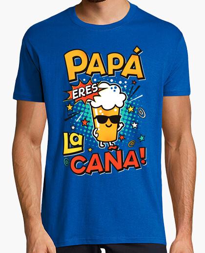 Tee-shirt papa tu es la canne!