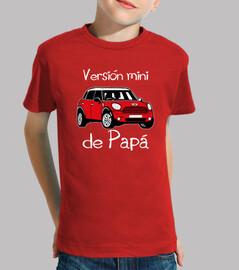 papa version mini (lettres blanches)