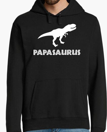 Sweat papasaurus (fond foncé)