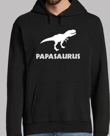 papasaurus, fond sombre