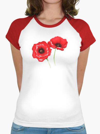 T-shirt papaveri