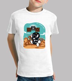 paper black ranger t-shirt