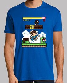 Paper Chun Li camiseta chico
