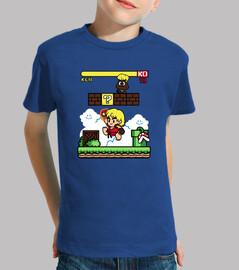 paper ken kid t-shirt