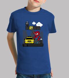 paper spider kids t-shirt