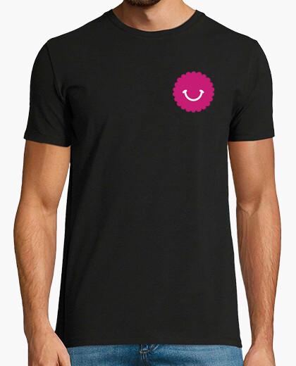 Camiseta Papi Fan SD Hombre, manga corta, negra, calidad extra