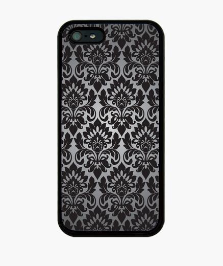 Coque iPhone papier peint baroque