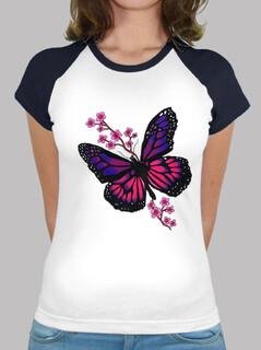 papillon avec fleur