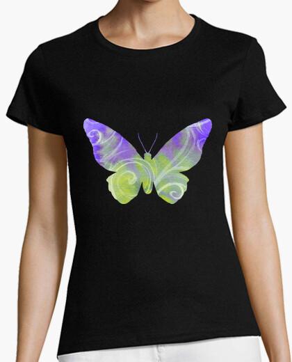 Tee-shirt papillon coloré