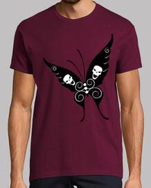 papillon du crâne