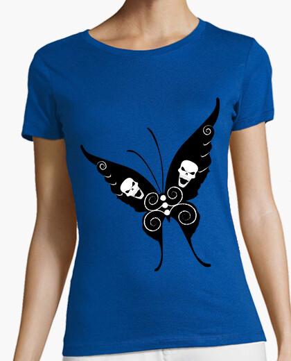Tee-shirt papillon du crâne
