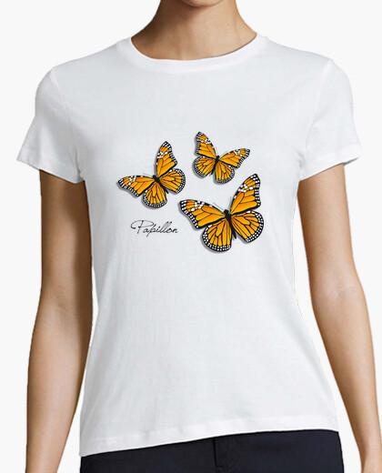 Camiseta Papillón (mariposas monarca)