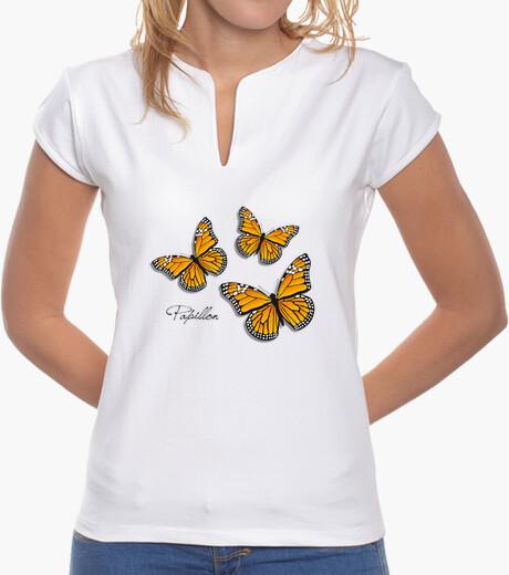 Tee-shirt papillon (monarque)