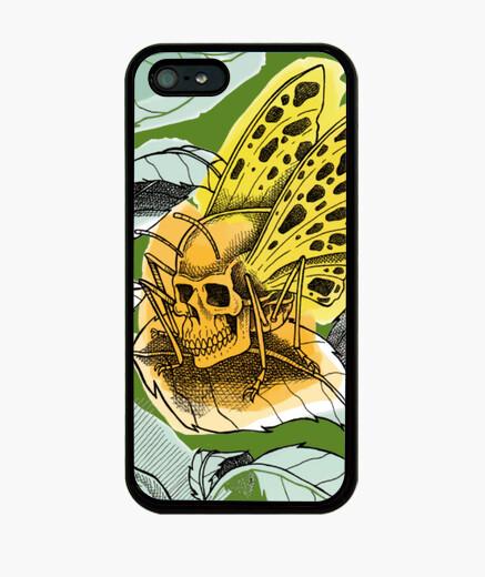 Coque iPhone papillon mort