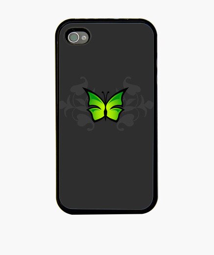 Coque iPhone papillon tribal