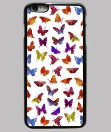 papillons colorés